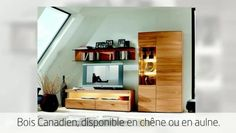 Meuble en bois massif : notre vidéo sur Dailymotion #boismassif, #meubleenbois Decoration, Shelves, Home Decor, Wood Furniture, Furniture Collection, Solid Wood, Home, Decor, Shelving