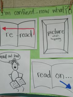 Kindergarten Reading, Teaching Reading, Teaching Ideas, Guided Reading, Readers Workshop, Writing Workshop, Reciprocal Teaching, Ela Anchor Charts, Reading Lessons