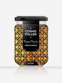 Packaging / Cosmopollen Urban Honey (London) - Louise Twizell — Designspiration