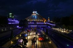 Space Mountain and Autopia