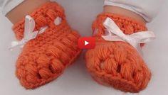 Bebeğiniz İçin Şirin Bir Tığ İşi Patik Yapımı Videolu anlatım