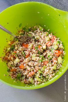 Salade de quinoa facon taboulé                                                                                                                                                                                 Plus