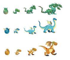 Dragon City Dragons | ... Que Esses Dragões Viram Para A Familia De Dragãoes
