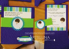 First Communion, Ideas Para, My Style, Boys, Party Ideas, Invitation Cards, First Holy Communion, Baby Boys, Ideas Party