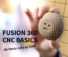 Fusion 360 is an awesome tool you can use with your CNC because you can do fancy cuts like curves, slopes, and complex layers. Cnc Software, Laser Cutter Ideas, 3d Printed Objects, 360 Design, Cnc Wood, Diy Cnc, Cnc Projects, Cnc Machine, Cnc Router