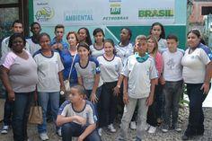 Conexão Professor: Alunos de Nova Iguaçu visitaram ONG durante projeto de Educação Ambiental