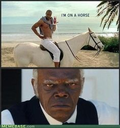 Why He on That Horse?