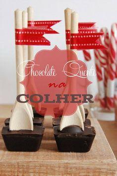 Chocolate  Quente na Colher #SenhoraInspiracao