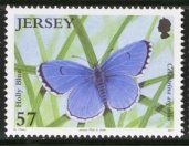 Stamp: Holly Blue (Celastrina argiolus) (Jersey) (Butterflies/moths) Mi:JE 1242,Yt:JE 1289