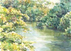 水々彩々、流れのままに。 Yabo′s WaterColorの画像
