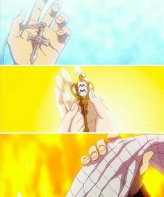 Fairy tail natsu , gray and lucy