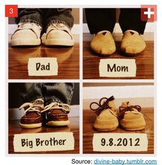 Expecting baby idea, if and when that ever happens