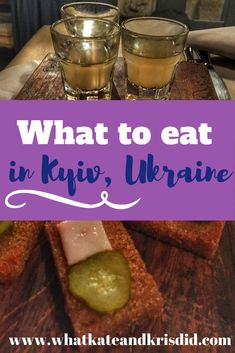 Ukrainian food is delicious and visiting Kiev is a great opportunity to try varenyky, borsht and other delicious Ukrainian dishes. We live in Kyiv, so here is our advice of the best food to eat in Kiev in our Kiev food guide. Ukrainian Food, Ukrainian Recipes, European Destination, European Travel, Europe Travel Tips, Travel Guides, Good Foods To Eat, Food Inspiration, Travel Inspiration