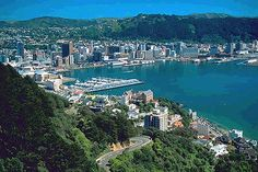 Wellington, New Zealand. I spent nearly a month here on a mission trip in 2004. Even in the winter, it was one of the most fantastically beautiful places I've ever been.