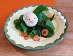Ostersalat- mit Ei