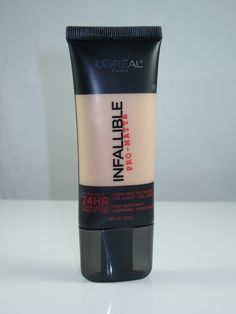 L'Oreal Infallible Pro-Matte Foundation Best stuff I have found to stay on for a long long time on oily skin! Smooths out lines too!