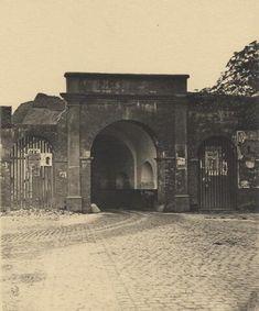 Groningen, Oosterpoort : binnenzijde 1877