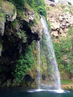 Cascade de Salles-la-Source © M. Hennessy / Tourisme Aveyron