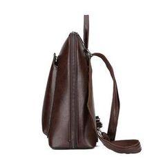 Vintage Backpack Female Brand Leather Women's backpack Large Capacity School Bag for Girls Leisure Shoulder Bags for Women Colorful Backpacks, Vintage Backpacks, Cute Backpacks, Backpack Purse, Fashion Backpack, Crossbody Bag, Backpack Pattern, Best Work Bag, Faux Leather Backpack