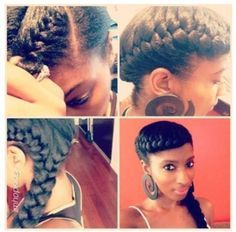 Image result for protective styles for damaged edges