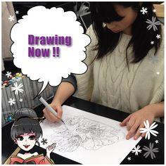 process of transformation into Japanese manga