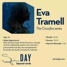 Eva Tramell - Crossfire Series - Sylvia Day