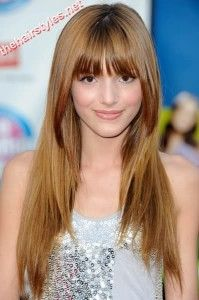 36 Gorgeous Long Straight Hairstyles With Bangs 2013 Photos