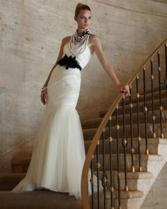 White House Black Market wedding dress. Great prices for the budget conscious bride.