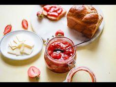 Gyors eper dzsem l Lila füge Panna Cotta, The Creator, Pudding, Ethnic Recipes, Desserts, Youtube, Tailgate Desserts, Dulce De Leche, Deserts