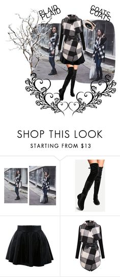 """""""Untitled #63"""" by apacheprincess ❤ liked on Polyvore featuring Max Factor and plaidcoats"""