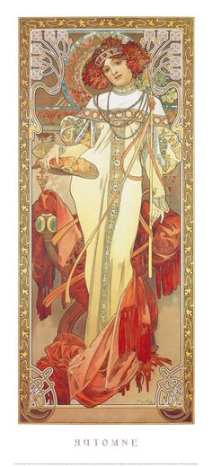 "Alphonse Mucha (1900) ~ Miks' Pics ""Alphonse Mucha"" board @ http://www.pinterest.com/msmgish/alphonse-mucha/"