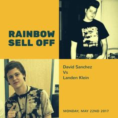 Klein vs Sanchez If you need @rainbowsandals tomorrow is the day Top Seller moves on to next week. No need for PPV  show all day #Dapperfeet #TeamDF