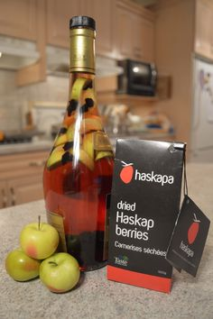 How to Make Haskap & Lady Apple Brandy: Cooking with Kimberly