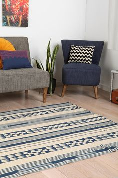 Magical Thinking Tent Stripe Rug - Urban Outfitters