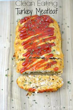 Clean Eating Turkey Meatloaf