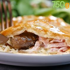 Turkey and chestnut pie - Poulet - Vegan Hot Dog Recipes, Beer Recipes, Seafood Recipes, Soup Recipes, Asian Noodle Recipes, Healthy Asian Recipes, Vegetarian Recipes, Quiche, Asian Soup
