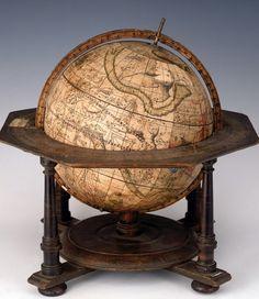 Celestial Globe by Petrus Plancius / Petrus Seutter / Matthaeus, Augsburg c.1710