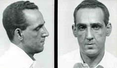 Early mugshot of Philly mobster Frank Sindone murdered October 1980 by Testa and co.