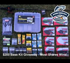 ENDS TONIGHT! Win a Bass Fishing Kit valued at over $200 via  http://virl.io/YATiacFR