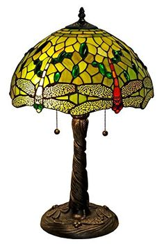 Stained Glass Table Lamps, Stained Table, Tiffany Table Lamps, Pull Chain, Light Shades, Light Table, Home Gifts, 3 D, Lighting