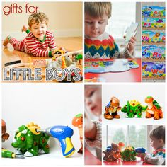 DailyMom's Gifts for Little Boys Guide recommends our: Create A Dinosaur Building Set and Gifts for Little Boys Guide recommends our:ABC Train Puzzle!