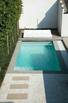 Stock Tank Swimming Pool Ideas, Get Swimming pool designs featuring new swimming pool ideas like glass wall swimming pools, infinity swimming pools, indoor pools and Mid Century Modern Pools. Find and save ideas about Swimming pool designs. Backyard Pool Designs, Small Backyard Pools, Pool Landscaping, Outdoor Pool, Backyard Ideas, Pool Decks, Pool Fence, Small Backyards, Backyard Patio