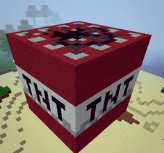 minecraft tnt | TNT Block(inside TNT) Minecraft Project