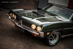 AmericanMuscle.de - Fotoshooting: 1971 Ford Torino GT