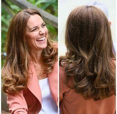 Duchess Kate, Duke And Duchess, Duchess Of Cambridge, Royal Hairstyles, Kate Middleton Hair, Princesa Diana, Princess Kate, Royal Fashion, Hair Type