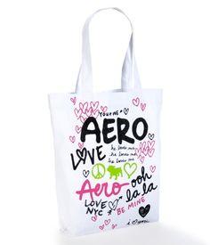 Aero Glitter Graffiti Tote