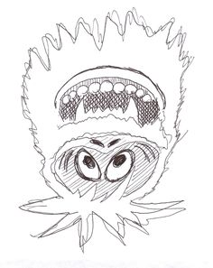 Abominable Snowman Coloring Pages | wecoloringpage | Pinterest ...