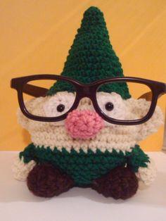 Amigurumi Glasses : Crochet themed crochet glass Crochet & Amigurumi ...