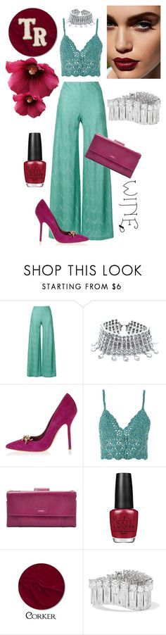 Contrast by mariana-cufari on Polyvore featuring moda, Topshop, M Missoni, Dsquared2, FOSSIL, Anita Ko and Child Of Wild