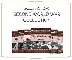 Winston Churchill's facinating Second World War Collection is on sale. Winston Churchill, Second World, The Gathering, World War Two, Writing, History, Collection, World War Ii, Historia